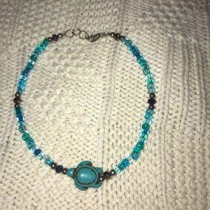 NWOT Beaded Turtle Anklet/Bracelet